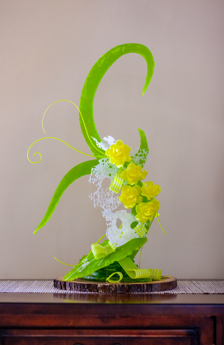 Sugar confection created by executive pastry chef Robert Nieto